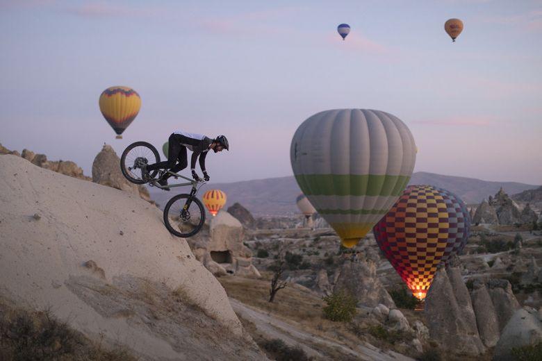 Vtt en Cappadoce